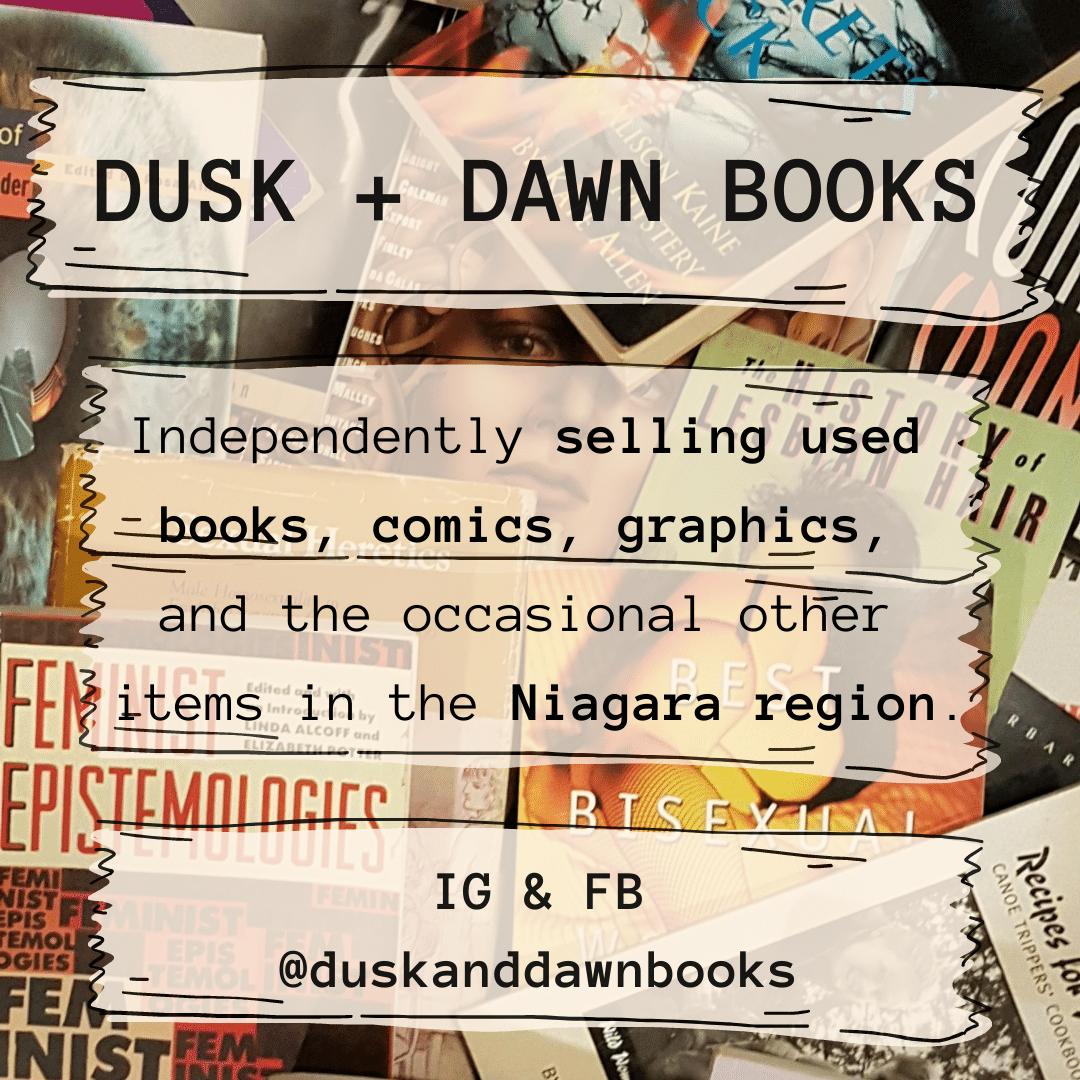 Dusk + Dawn Books