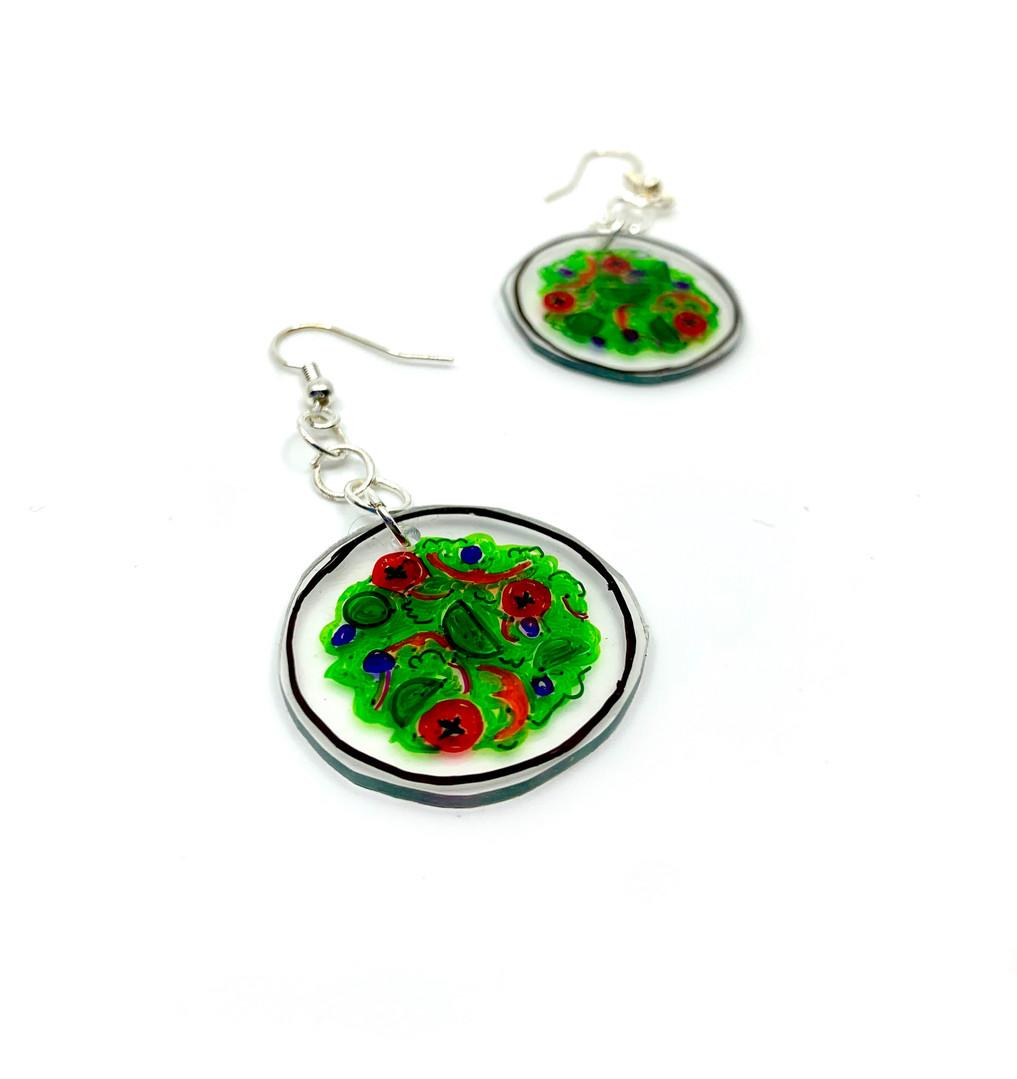 Salad Bowl Earrings