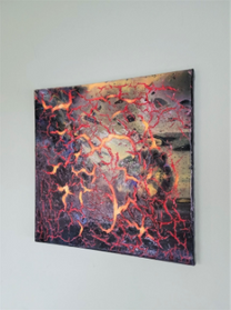 """Cracked Space, 12"""" x 12"""""""