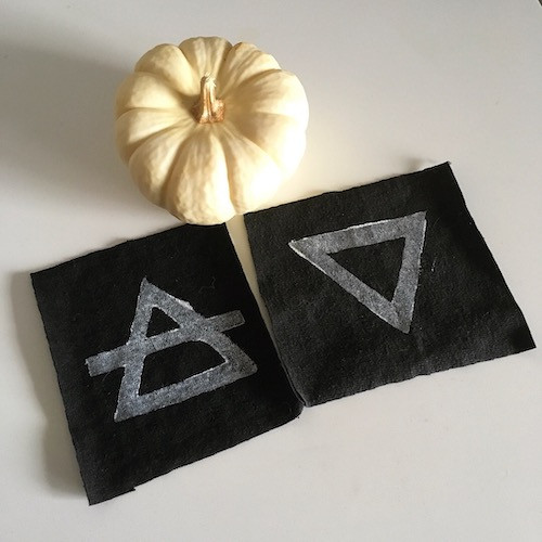 Pair of Witch Elemental Patches