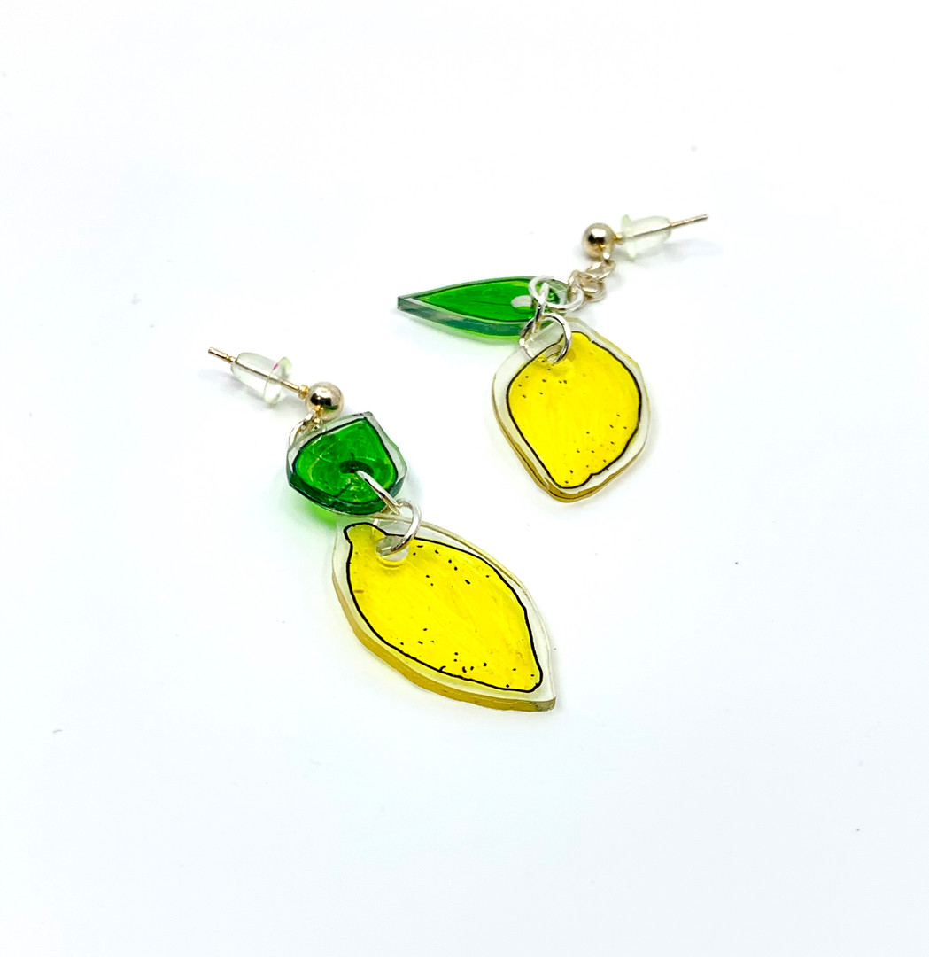 Sour Lemon Earrings