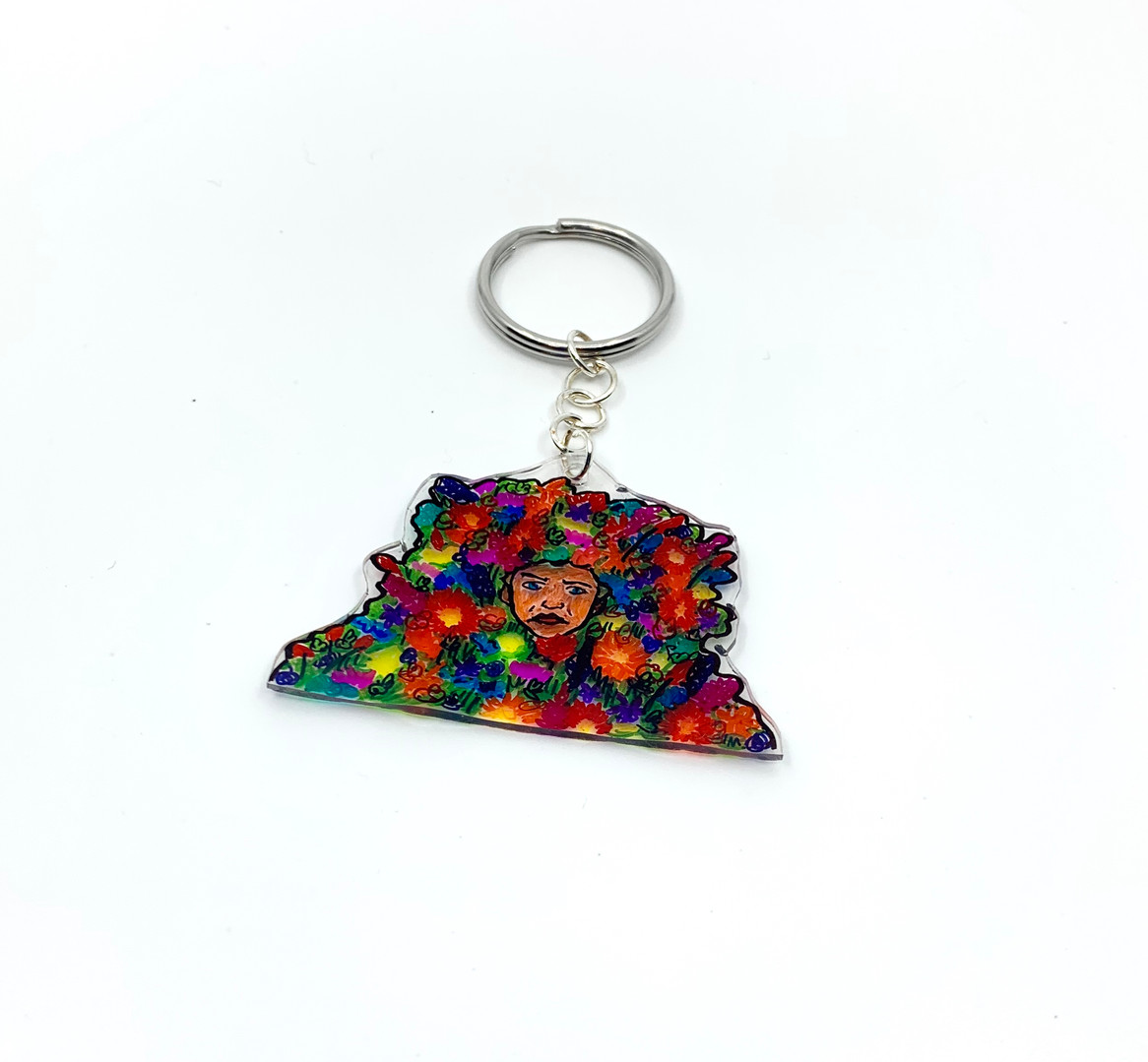May Queen Keychain
