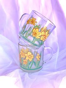 Daffodil mugs