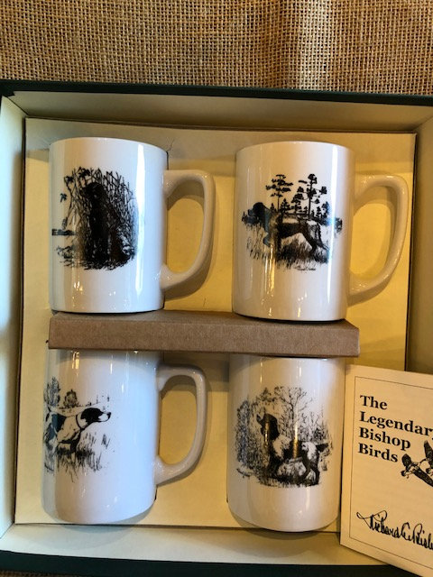 Richard Bishop ceramic mugs/sporting dogs