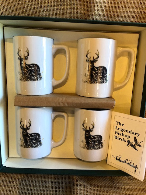Richard Bishop ceramic mugs/stag