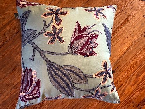 Beautiful Aqua made in USA pillow