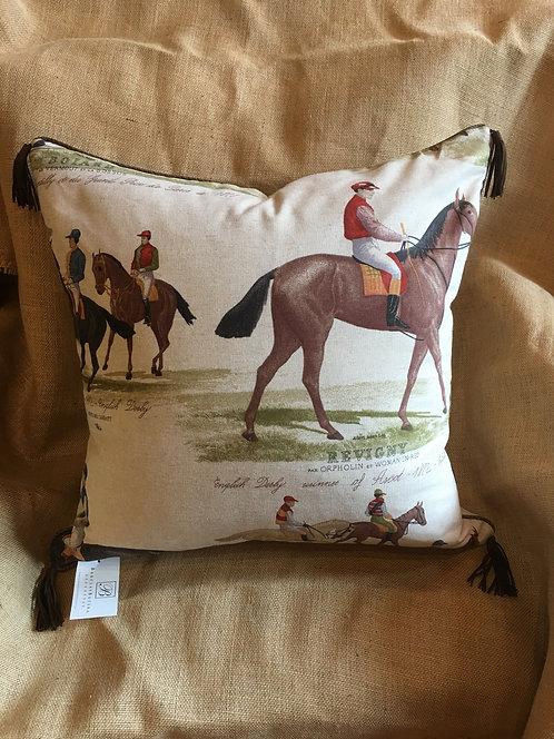 Equestrian Rider Pillow