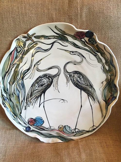 Large round hanging Platter