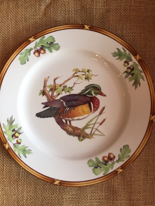 Game Birds Luncheon Plate