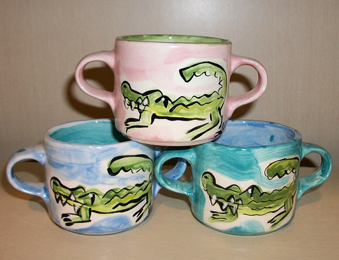 Alligator Baby Cup