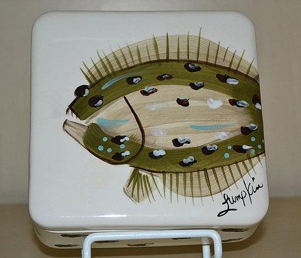 Flat Fish Napkin Box