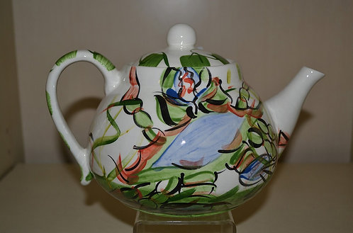 Claws Round Tea Pot