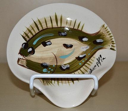 Flat Fish Spoon Rest