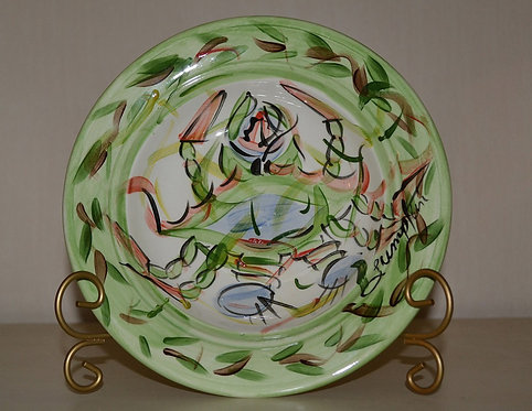 Claws Round Salad Plate