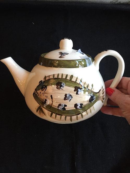 Flat Fish Tea Pot