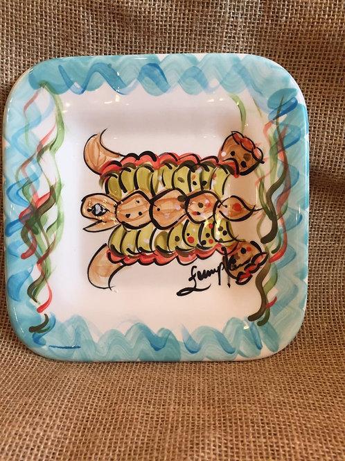 Loggerhead Square Salad Plate