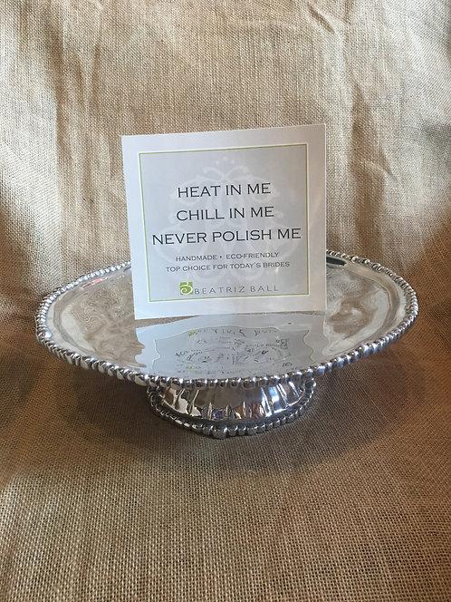 Pearl Cake Plate