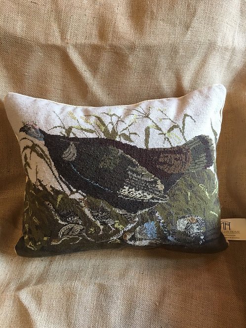 Turkey Needlepoint Pillow