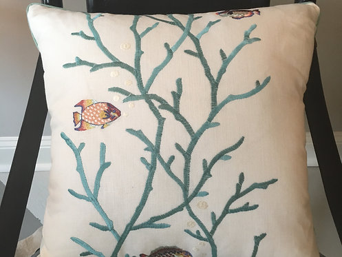 Dory Aqua Pillow