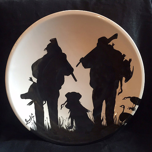The Hunt Round Platter