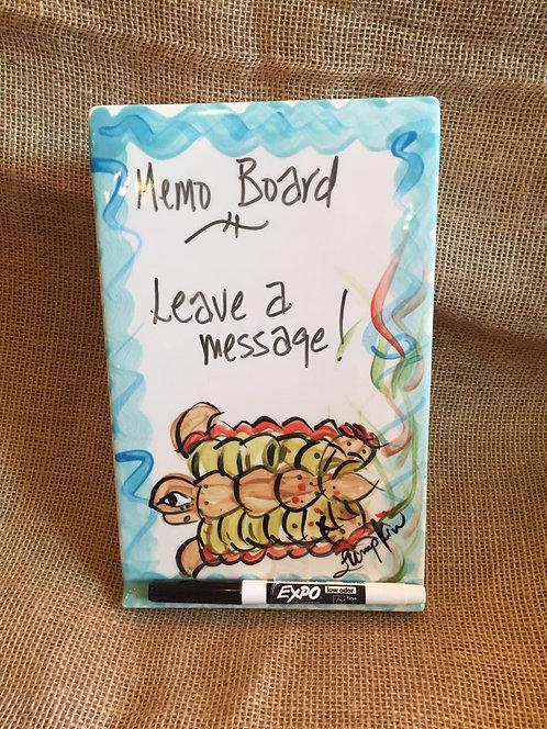 Loggerhead Memo Board