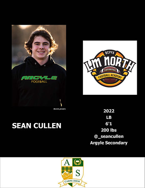 Sean Cullen Hudl