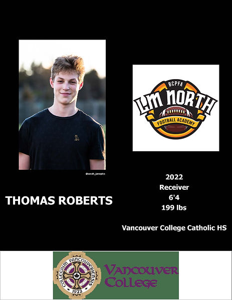 Thomas Roberts Hudl