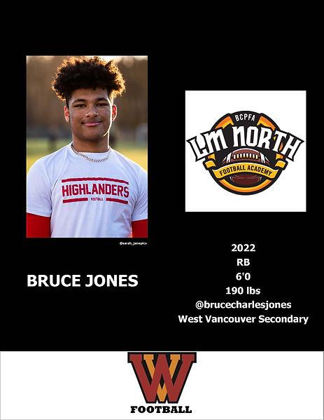Bruce Jones Hudl