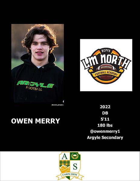 Owen Merry Hudl