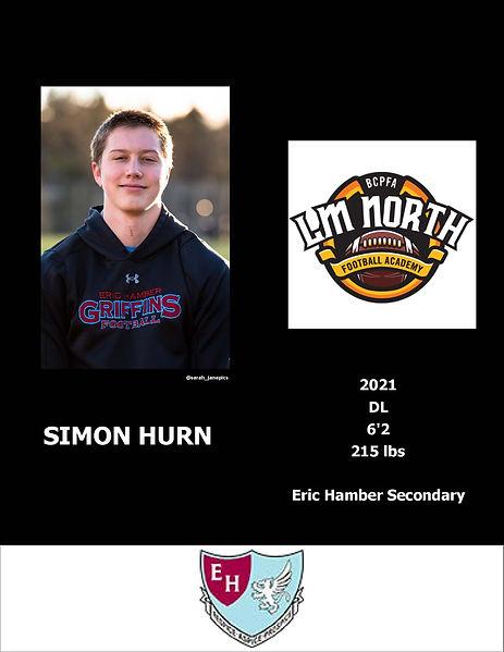 Simon Hurn Hudl