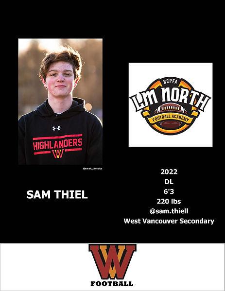 Sam Thiel Hudl