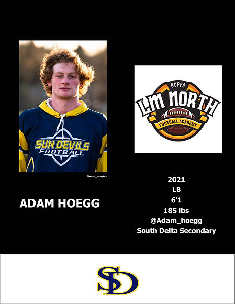 Adam Hoegg Hudl
