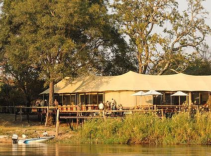 zambezi sands - main guest area has a ma
