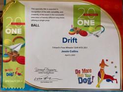 Drift Award