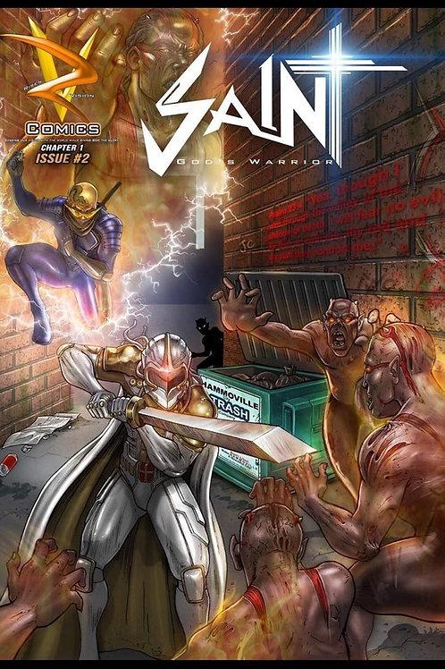 Saint God's Warrior Comic Book Issue 2