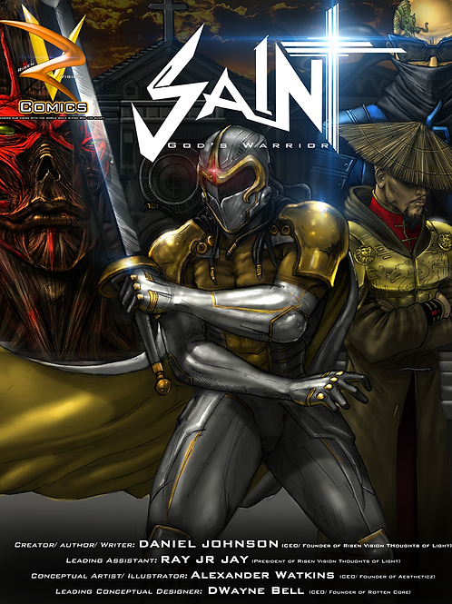 Saint God's Warrior Comic Book Issue 1