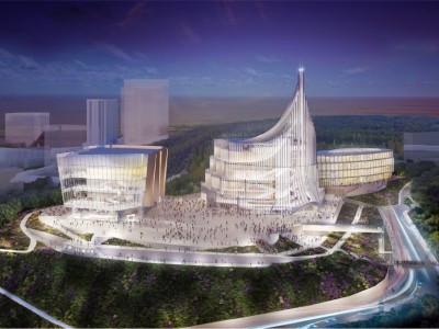 Объект строительства музейного и культурно-образовательного комплекса в г. Владивосток (о. Русский)