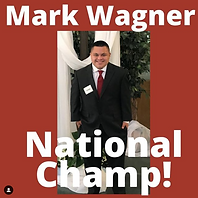 Mark Wagner National Champion Reflection