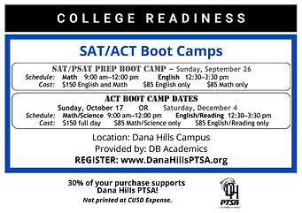 College Readiness Boot Camp Flyer 2021-2022 SAT ACT.png
