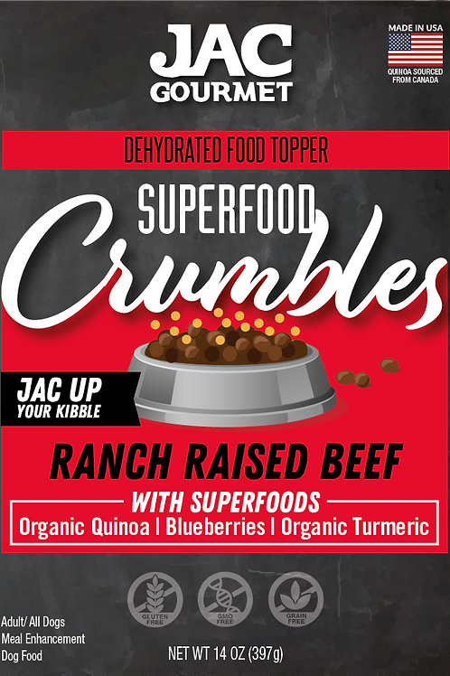 Superfood Crumbles Beef Food Topper