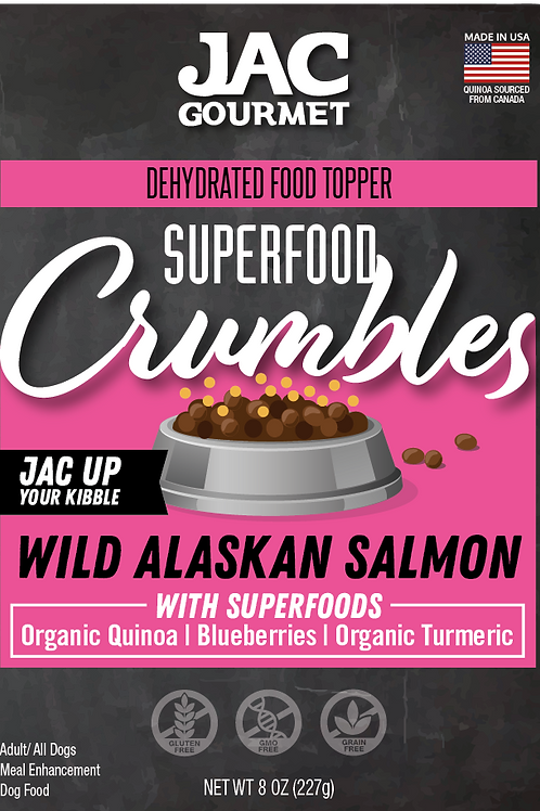 Superfood Crumbles Salmon Food Topper