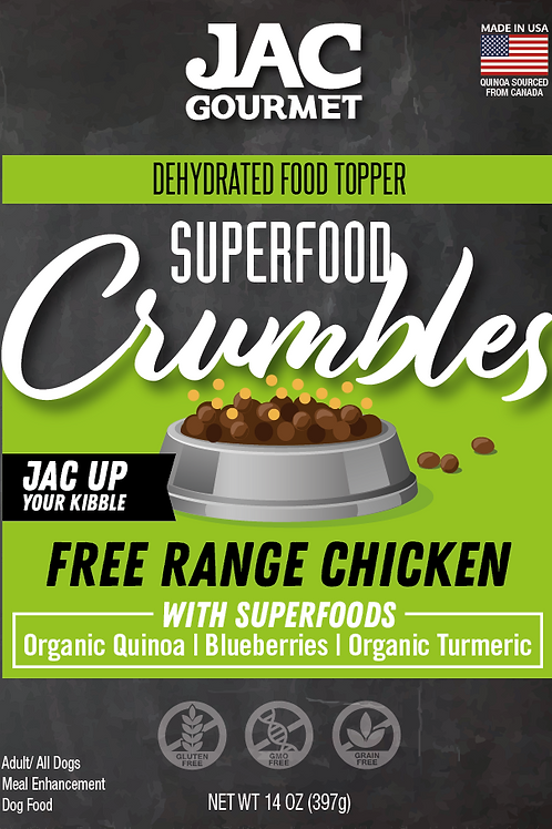 Superfood Crumbles Chicken Food Topper