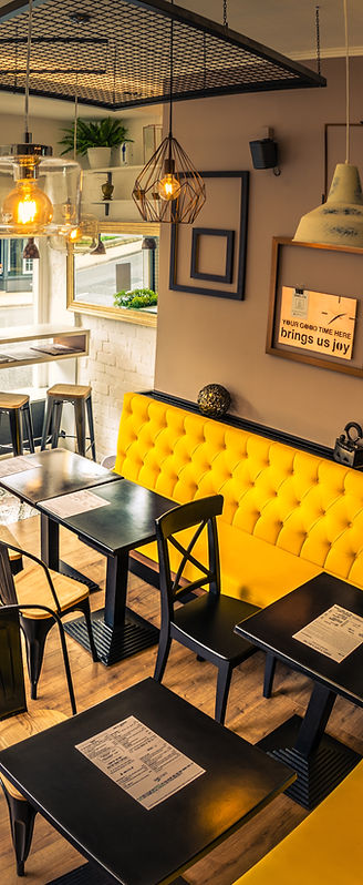 Daniel's Cafe & Bistro interiour | Independent Cafe Ilkley