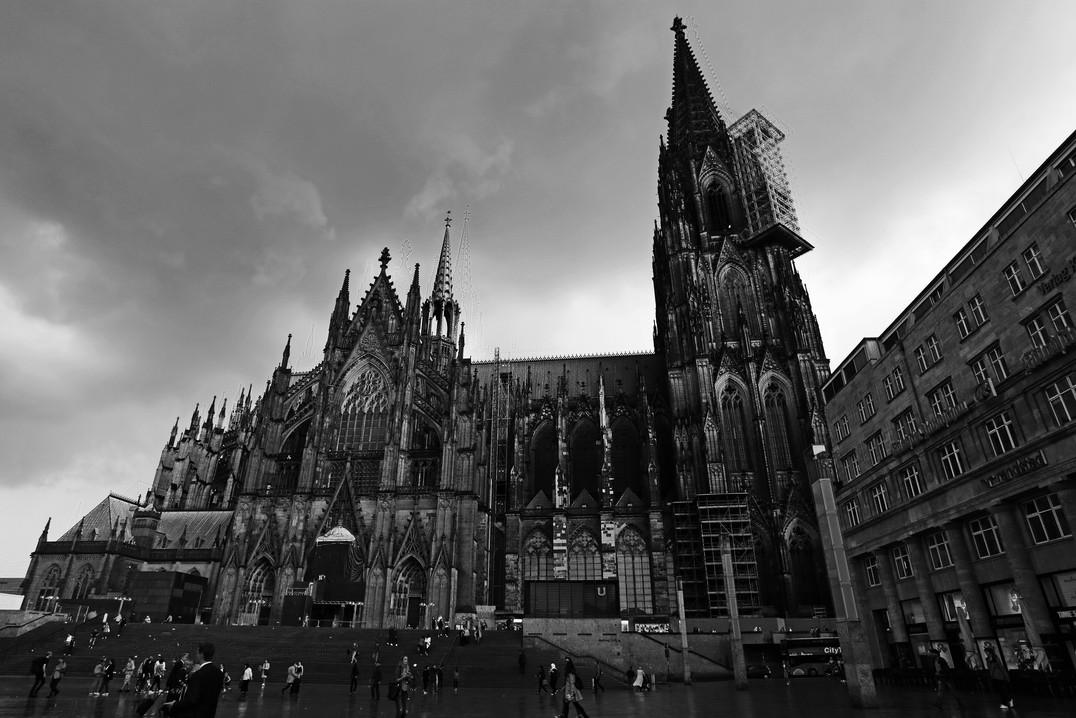 Cathedral - Koln - B&W - Germany '16.jpg