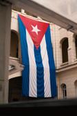 CUBA BANDERA - PORTRAIT - LA HABANA, CUB