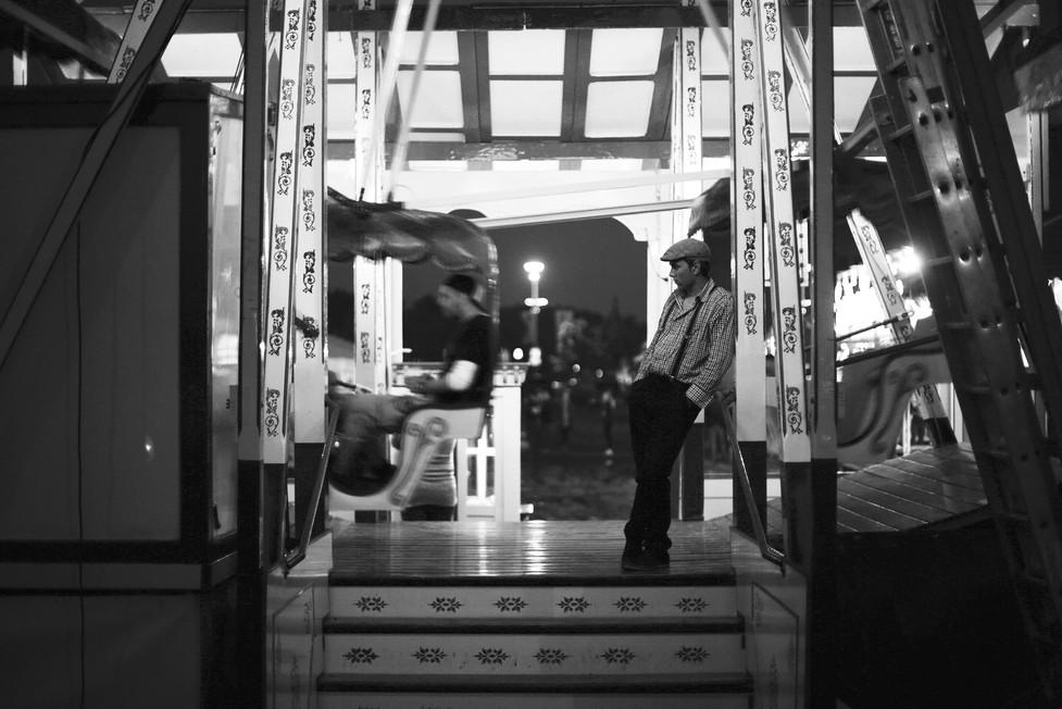 Ferris Wheel Man - Kustom Kullture Forev