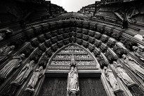 Koln Cathedral - Under the Entrance.jpg