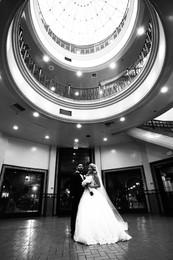 Jessica and John's - B&W -  Wedding Phot