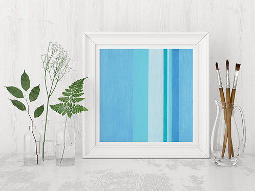 Blue Jean Beach Day - Limited Edition Print
