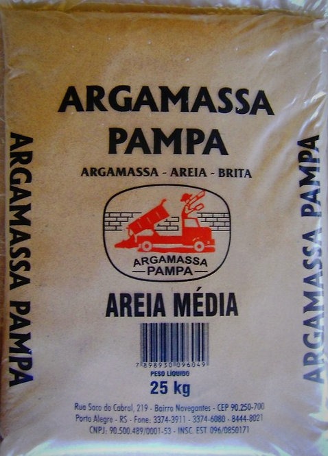 Areia Média